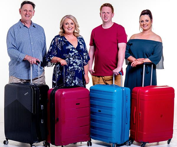 From minor meltdowns to major mishaps, there's never a dull moment for the Fren family from Newcastle, NSW. In season one of the Aussie travel show, Mark, Cathy, Jonathon and Victoria were compared to the fictional Griswold family from the *National Lampoon* film series. *(Image: Channel Nine)*