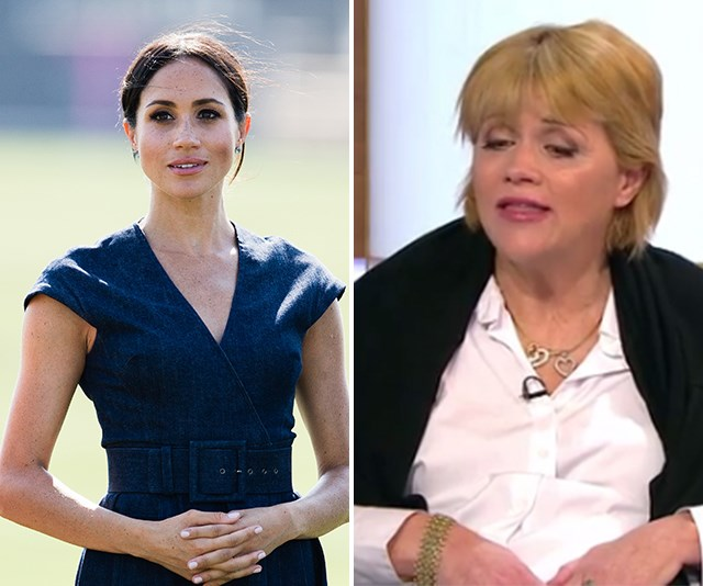 Samantha Markle has also delivered a series of candid interviews detailing Meghan's fractured relationship with her father. *(Images: Getty (L), Good Morning Britain (R) )*