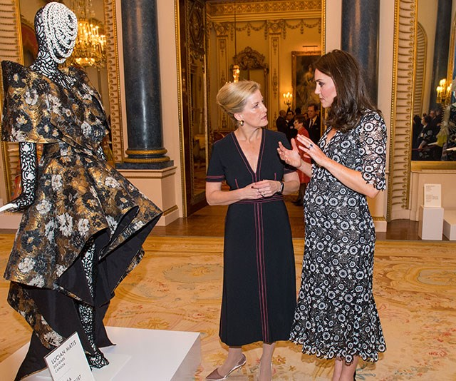 In fact, Sophie and Kate even made a joint appearance together last year when they attended the The Commonwealth Fashion Exchange Reception at Buckingham Palace. *(Image: Getty)*