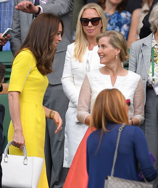 No matter where they go, the ladies always enjoy each other's company. *(Image: Getty)*