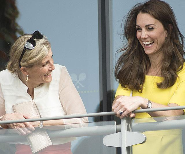 "[Sophie of Wessex](https://www.nowtolove.com.au/tags/sophie-of-wessex|target=""_blank"") and [Duchess Catherine](https://www.nowtolove.com.au/tags/catherine-duchess-of-cambridge