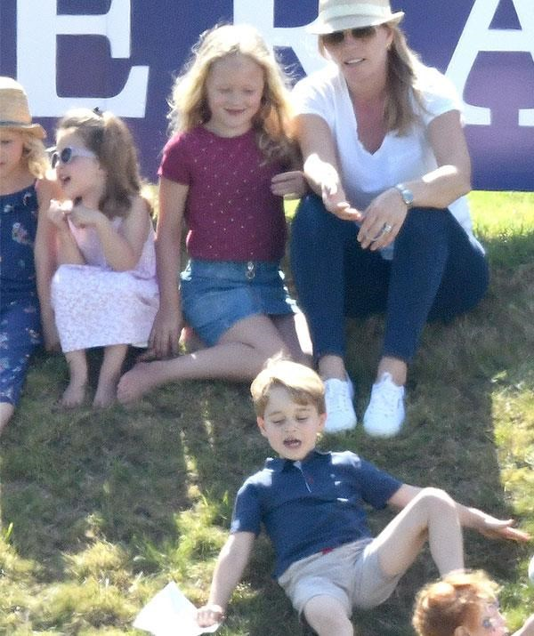 """But it was when Savannah, whose father is The Queen's grandson Peter Phillips, [pushed Prince George down a hill at the polo last year](https://www.nowtolove.com.au/royals/british-royal-family/savannah-phillips-pushes-prince-george-down-hill-49188
