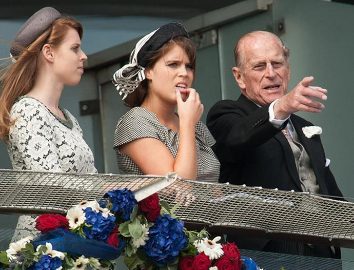 """I think Grandpa is incredible. He really is strong and consistent. He's been there for all these years, and I think he's the rock, you know, for all of us,"" Princess Eugenie has said of her grandfather, [Prince Philip.](https://www.nowtolove.com.au/tags/prince-philip-duke-of-edinburgh