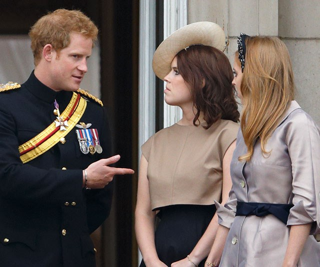 It's little wonder Harry and William are so close with Eugenie and Beatrice. Not only do they mix in similar social circles, the cousins all grew up together. *(Image: Getty)*