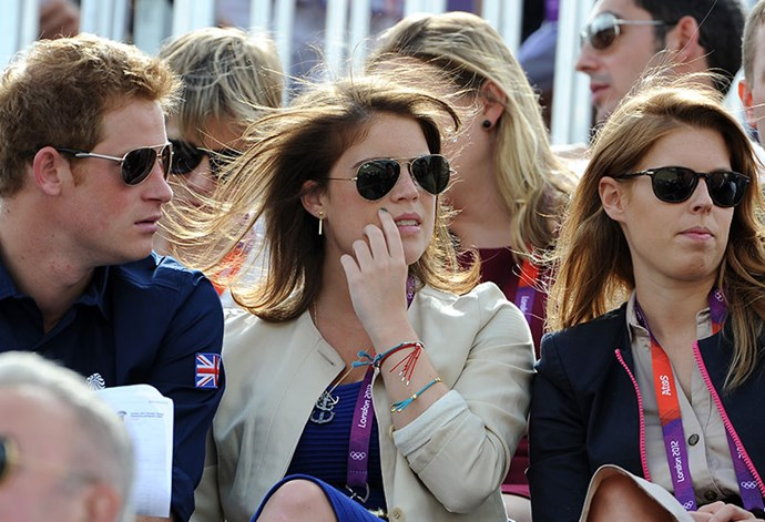 Princess Eugenie has even played cupid for Prince Harry in the past, setting him up with ex-girlfriend and actress Cressida Bonas, who he dated from 2012 to 2014. *(Image: Getty)*