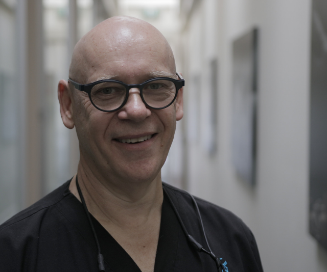 General Dentist, Jeff Kestenberg says there is great success to be found with the surgery. *Image: Supplied/SBS.*
