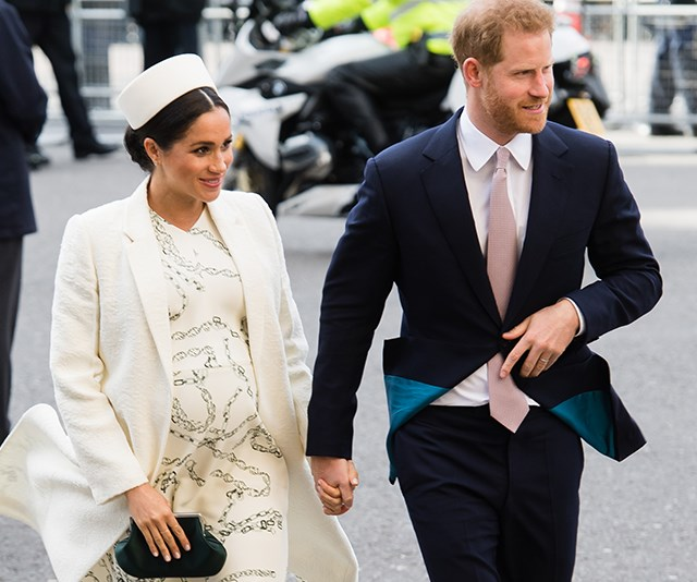 Harry and Meghan have seen several staff members hand in their notice since their royal wedding in May 2018. *(Image: Getty)*