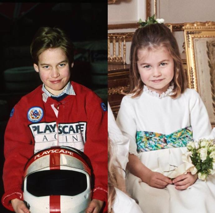 "Of course, it's not the first time the two have been compared. Instagram account Teatime with the Cambridges shared [a picture of a young Prince William and Princess Charlotte](https://www.nowtolove.com.au/royals/british-royal-family/princess-charlotte-prince-william-51921|target=""_blank"") at Princess Eugenie's royal wedding and the two have the same cheeky smirk! *(Image: Instagram @teatimewiththecambridges)*"