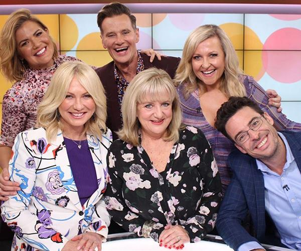 Angela's *Studio 10* family have been there for her through the good and bad times. *(Image: Instagram @angelabishop10)*