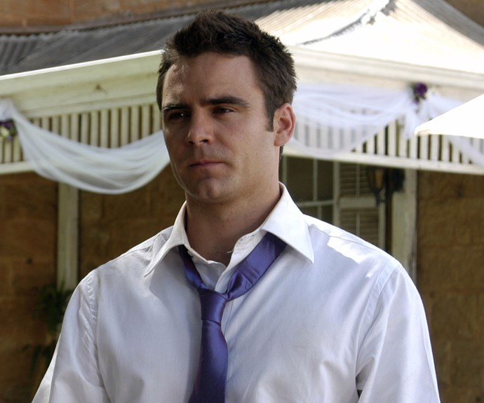 **Then: Dustin Clare** <br><br> Dustin starred as Riley Ward from season six, to the end of the series in 2009. At first misunderstand, Riley became a lovable member of the Drover's Run gang, eventually having a relationship with Kate before being involved in a car accident. His body was never found and Riley was presumed dead.