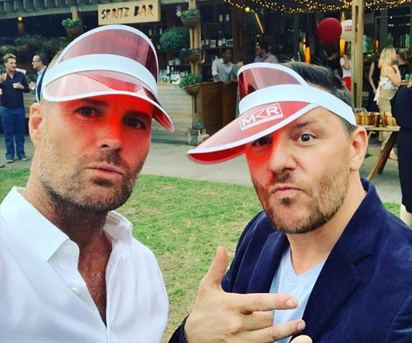 Young at heart: Getting older isn't an issue for these two. *(Image: Instagram @chefpeteevans)*