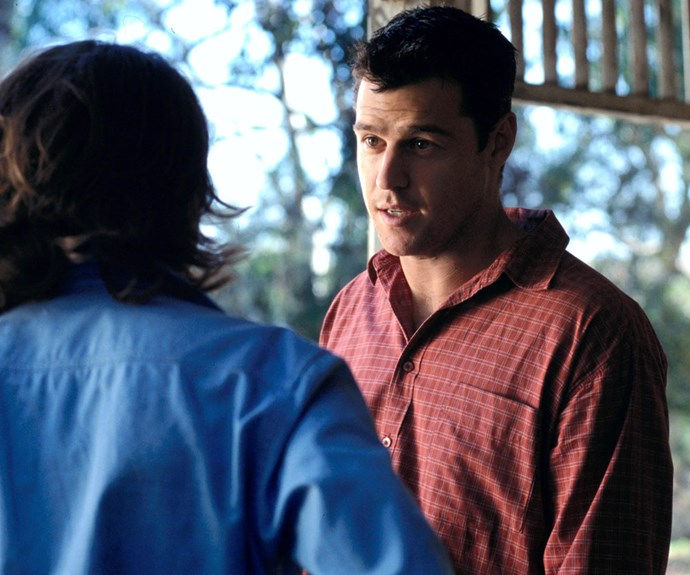 **Then: Rodger Corser** <br><br> Peter Johnson was the (still married) boyfriend of Claire, who broke her heart by not telling her the truth about his wife and three children. Peter was the father of Claire's daughter Charlotte Pruedence Mcleod.
