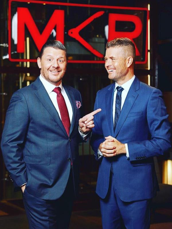 Both Manu and Pete are making an effort to look after their mental health. *(Image: Instagram @chefpeteevans)*