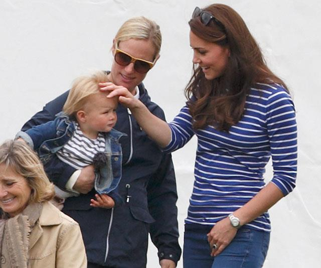 Duchess Kate, Mia Tindall and Zara Tindall - talk about a power trio! *(Image: Getty)*