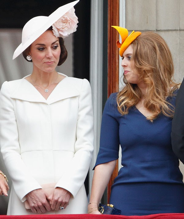 Trooping the Colour might be a serious affair, but there's always room for a giggle. *(Image: Getty)*