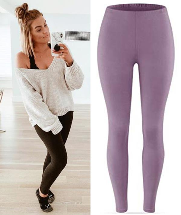"These $19 leggings available on Amazon have taken Australia by storm. *(Images: (L) Instagram / [@shelby.nisius](https://www.instagram.com/shelby.nisius/?utm_source=ig_embed|target=""_blank""