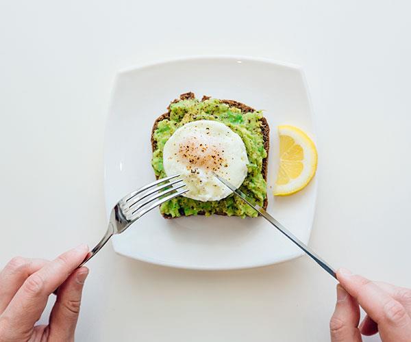 Eggs help you stay fuller for longer.