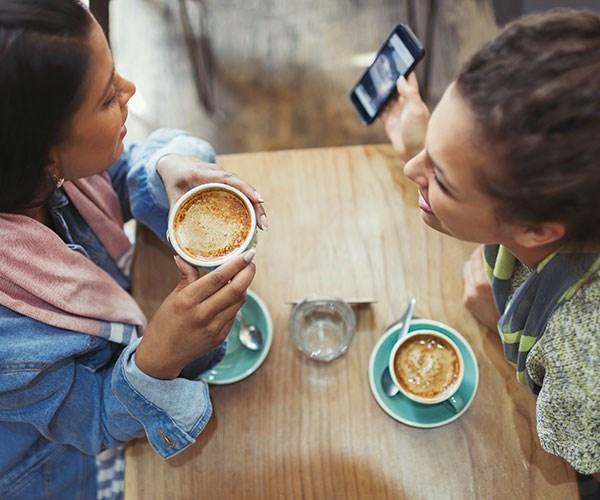Coffee is full of essential nutrients like vitamin B and potassium.