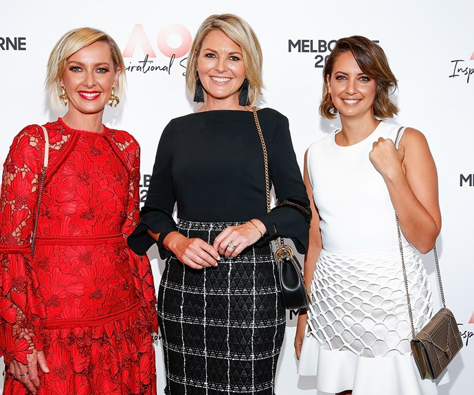 Hosts Deb Knight, Georgie Gardner and Brooke Boney. *(Image: Getty)*