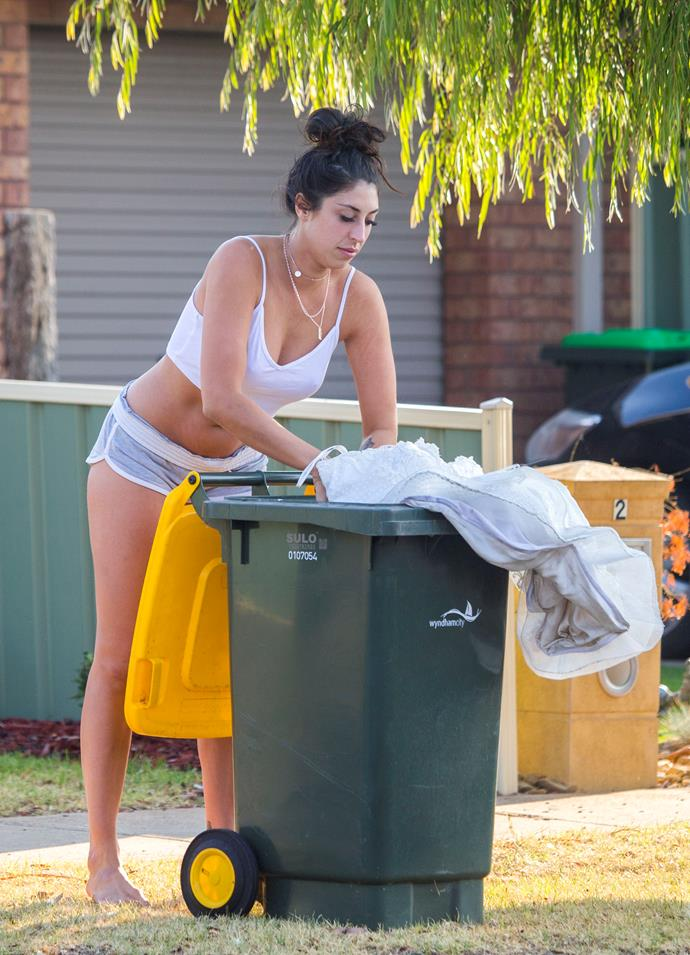 In the bin you go! *(Source: Exclusive)*