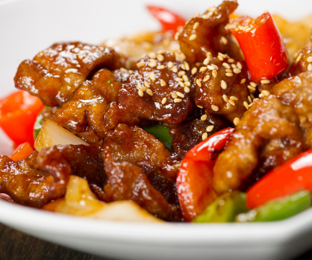 """""""Chinese takeaway is great for a dose of ginger, especially Chinese stir-fries. A Chicken Sweet and Sour Stir -Fry is loaded with ginger, but it's a common ingredient in Chinese dishes,"""" says nutritionist, Olivia Bates. *Image: Getty.*"""