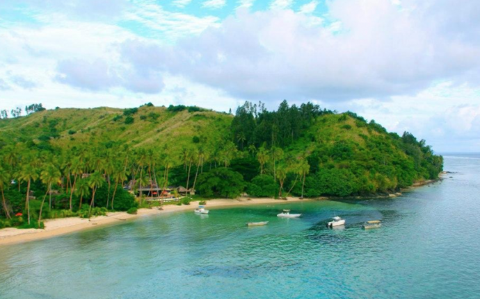 The very famous and exclusive beach. *(Source: Mango Bay Resort)*