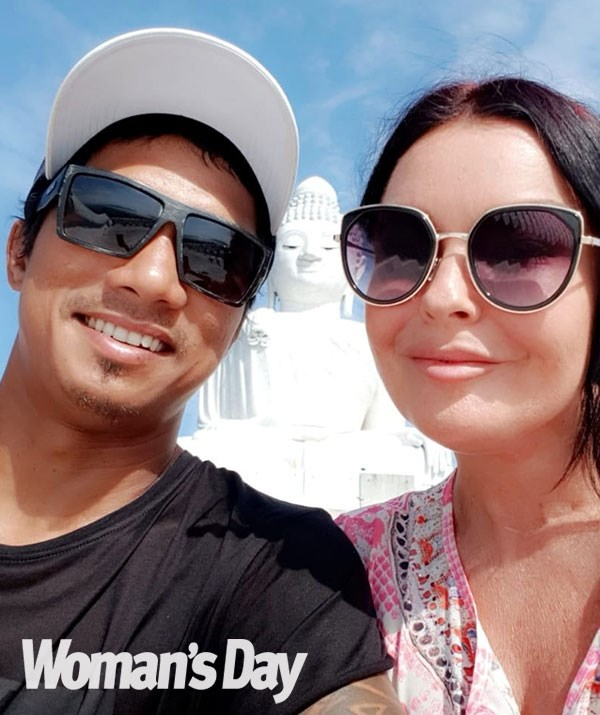 """""""We are hoping to become pregnant on this trip together,"""" Schapelle tells *Woman's Day*. *(Image: Supplied)*"""