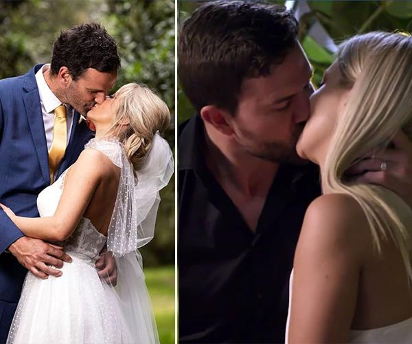 Jess has made headlines after her affair with Dan on the show. *(Images: Channel Nine)*