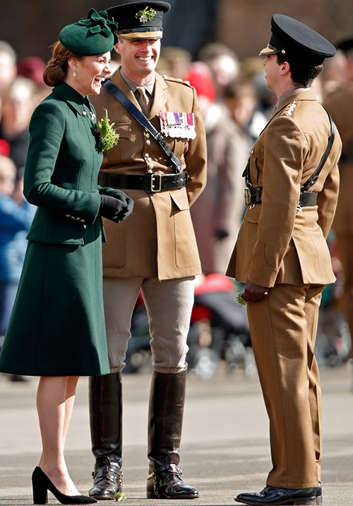 The Duchess couldn't have looked more at ease! *(Image: Getty)