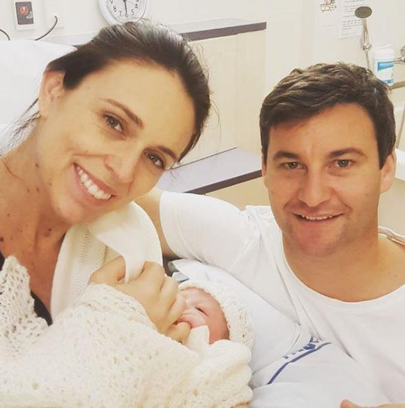 Back in June 2018, Jacinda proved she was the ultimate inspiration to working women across the world, becoming the second woman in the world to give birth while in office.  <br><br> Turning convention on its head, her partner Clarke Gayford became a stay-at-home dad while Jacinda returned to work within two months.  *(Image: Instagram @[jacindaardern)*