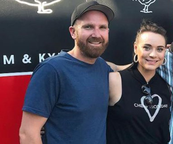 """**Tim and Amy: Season 8** <br> <br> Kyle's *MKR* partner Tim Attiwill was a bit luckier in love on the show after it was revealed he and Amy Murr, who won the season with brother Tyson, were an item. Speaking to a local publication in 2017, Tim said, """"We became really close on the show ...  She was a real standout. We have definitely stayed in contact."""" *(Image: Instagram @timandkyle_)*"""