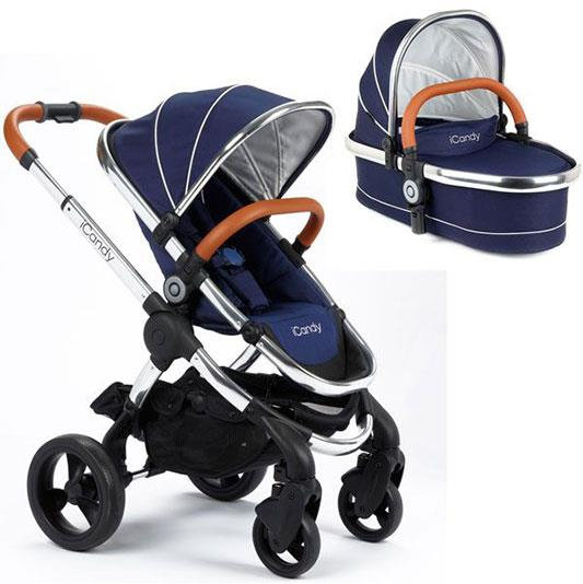 First we have the same pram, could it be a precursor of things to come? *(Image: iCandy)*