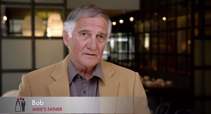 Mike's father Bob Gunner is a popular choice to be a new expert! *(Source: Channel 9)*