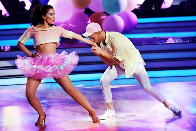 Olympia wowed judges week after week on *DWTS.*