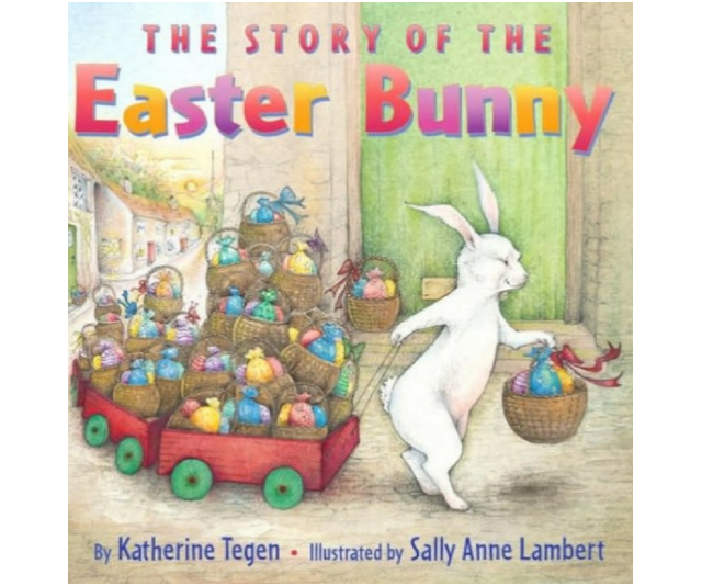 Katherine Tegen's tale *The Story of the Easter Bunny*, tells how a pet rabbit became the Easter Bunny. *Image: Supplied.*