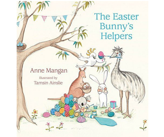 *The Easter Bunny's Helpers*, by Anne Mangan and Tamsin Ainslie, with its native Australian animal characters is a great local read. *Image: Supplied.*