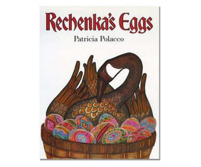 *Rechenka's Eggs* by Patricia Polacco is another beautifully illustrated tale that draws upon the Russian/Ukrainian traditions of decorated eggs to tell it's story.  *Image: Supplied.*