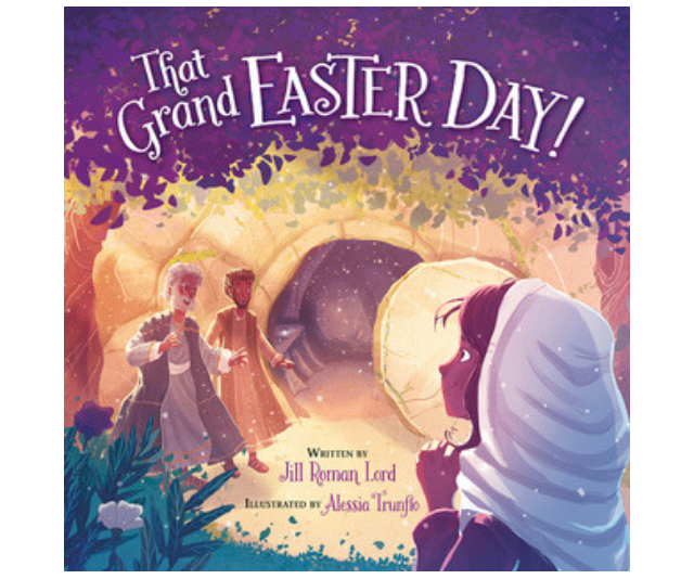 *That Grand Easter Day* by Jill Roman Lord and Alessia Trunfio is a good choice for younger children. The rhymes and rhythms and the cumulative effect of the repetitions draw children into the story in a very accessible way. *Image: Supplied.*