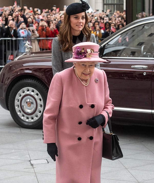 Crowds gathered to catch a glimpse of the regal pair. *(Image: Getty)*