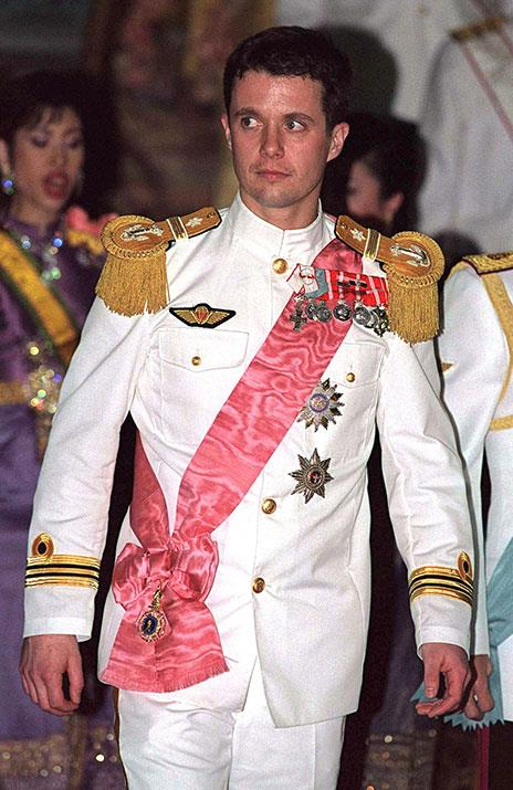 "[Crown Prince Frederik of Denmark](https://www.nowtolove.com.au/tags/frederik-crown-prince-of-denmark|target=""_blank"") sure knows how to rock a uniform."