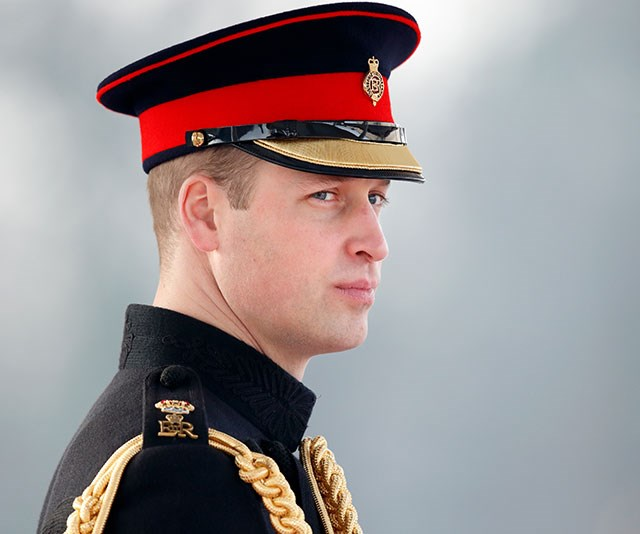 The future King of England sure knows how to smoulder.
