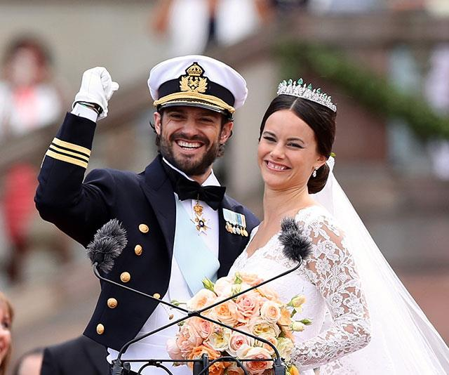 Prince Carl donned his military best for his 2015 wedding to Sofia and the results were nothing short of spectacular.