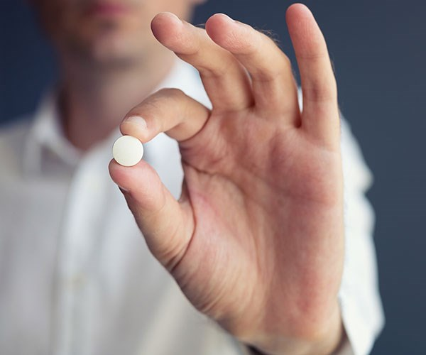 Antibiotics don't differentiate, killing any bacteria in its path.