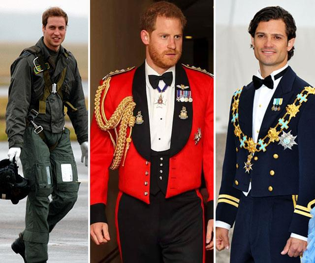 A royal in a uniform? We salute you!