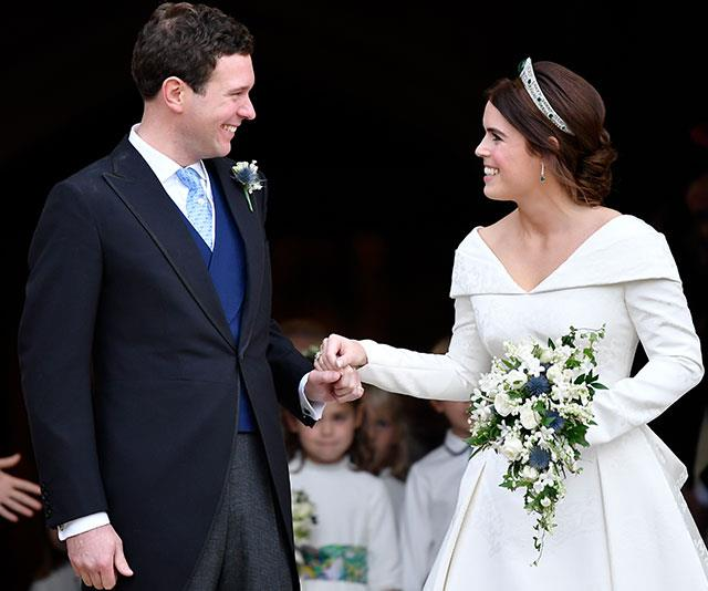 The couple tied the knot in a lavish ceremony at Windsor Castle in October 2018.