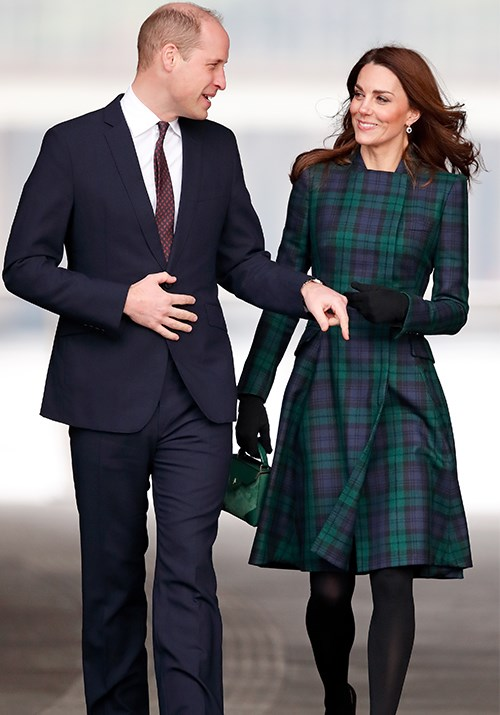 And 2019 is off to a good start! Kate stepped out in a green Alexander McQueen tartan coat in January 2019 during a visit to Dundee. Long live the royal tartan craze!