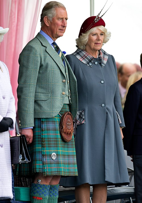 Twinning moment take two! This time, Charles and Camilla opted for the very appropriate Braemar Highland Gathering in Scotland for their tartan extravaganza in September 2012.