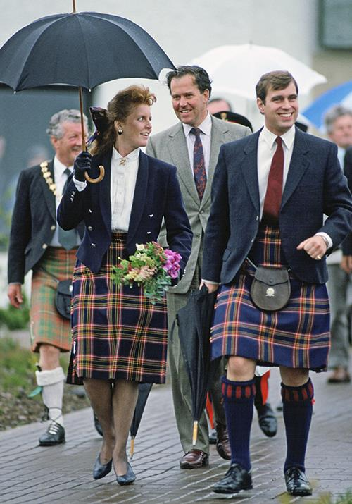 "And it wasn't just Diana who dabbled in tartan during the 1980s! [Sarah Ferguson and Prince Andrew](https://www.nowtolove.com.au/royals/british-royal-family/sarah-ferguson-kate-middleton-meghan-markle-54099|target=""_blank"") twinned during an official visit to Scotland in 1987 and we're here for it."