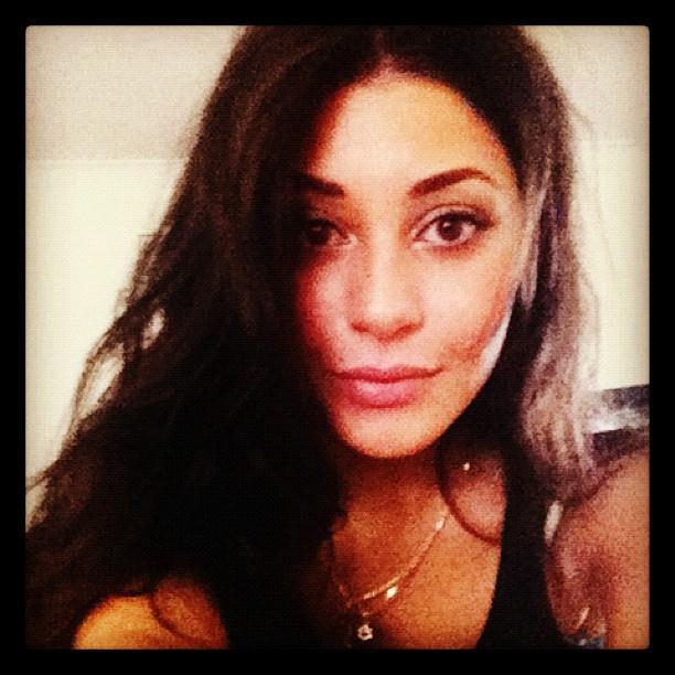 She was always a fan of a selfie though! *(Image: Instagram)*