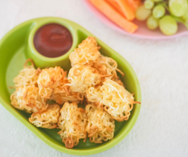 Noodle nuggets - who knew? *Image: Fat Mum Slim.*